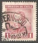 Sellos del Mundo : America : Chile :  Francisco Antonio Pinto (1785-1858)