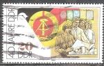 Sellos de Europa - Alemania -  40 años DDR.