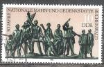 Sellos de Europa - Alemania -  30 años monumento conmemorativo Buchenwald (DDR).