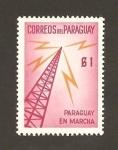 Stamps : America : Paraguay :  Paraguay en marcha