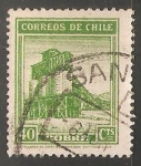 Stamps of the world : Chile :  Cobre