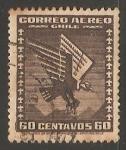Sellos del Mundo : America : Chile : Condor volando