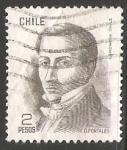 Sellos del Mundo : Europa : Chile : Diego Portales