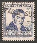 Stamps Chile -  Centenario fallecimiento Presidente J.J. Prieto Y