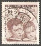 Sellos del Mundo : America : Chile : Campaña Nacional de Alfabetizacion