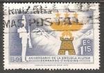 Sellos de America - Chile -  150 Aniversario de Escuela Militar Bernardo O'Higgins