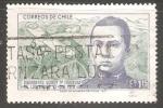 Stamps Chile -  Dagoberto Godoy 1ª travesia de los Andes