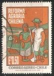 Sellos del Mundo : America : Chile : Reforma agraria chilena