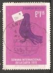 Stamps Chile -  Semana internacional de la carta