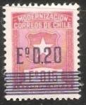 Sellos del Mundo : America : Chile : Modernizacin del Correo de Chile