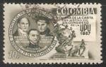Sellos de America - Colombia -  Semana de la carta con motivo del XIV Congreso de la UPU 1957