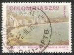 Sellos de America - Colombia -  Vista del Rodadero - Santa Marta