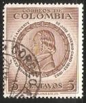 Sellos del Mundo : America : Colombia : Primer centenario de la muerte de Jose Eusebio Caro