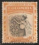 Sellos de America - Colombia -  Cafe