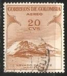 Stamps Colombia -  Nevado de Ruiz Manizales
