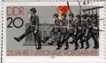 Sellos del Mundo : Europa : Alemania : Desfile militar