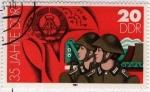 Sellos del Mundo : Europa : Alemania : Soldados alemasnes