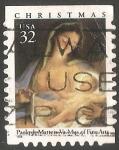 Stamps United States -  Navidad