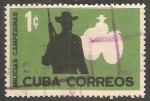 Stamps Cuba -  Milicias campesinas