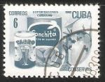 Sellos de America - Cuba -  Exportaciones cubanas conservas