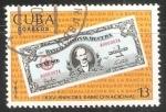 Sellos de America - Cuba -  XXV Aniv. del Banco Nacion