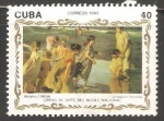 Sellos de America - Cuba -  Obras de arte del Museo Nacional
