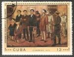 Sellos de America - Cuba -  Centenario del fusilamientode los estudiantes