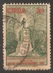 Stamps Cuba -  Monumento al soldado