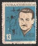 Sellos de America - Cuba -  Sergio Gonzalez (El curita)