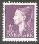 Stamps Denmark -  Queen Margrethe II