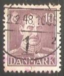 Sellos del Mundo : Europa : Dinamarca : King Christian X