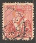 Sellos de Europa - Dinamarca -  Hans Tavsen