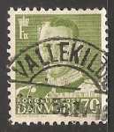Sellos de America - Dinamarca -  King Frederik IX
