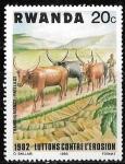 Sellos del Mundo : Africa : Rwanda : Rwanda-cambio