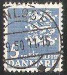 Sellos de Europa - Dinamarca -  Escudo de armas