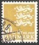 Stamps Denmark -  Escudo de armas
