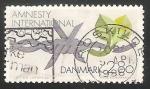 Sellos de Europa - Dinamarca -  Amnistia Internacional