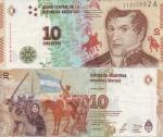 monedas del Mundo : America : Argentina :  Juana Azurduy
