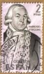 Stamps Europe - Spain -  Ambrosio O'Higgins CHILE - Forjadores de America