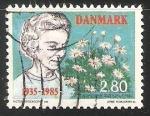 Sellos de Europa - Dinamarca -  Reina Ingrid