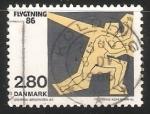 Stamps Denmark -  Refugiados
