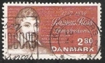 Sellos de Europa - Dinamarca -  Rasmus Rask