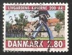 Sellos de Europa - Dinamarca -  Guardias reales