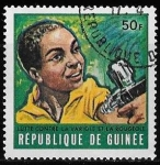 Stamps : Africa : Guinea :  Guinea-cambio