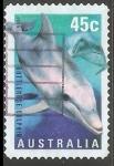 Sellos de Oceania - Australia -  Common Bottlenose Dolphin-Delfín mular común
