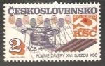 Sellos de Europa - Checoslovaquia -  XVI. Congreso del PCC