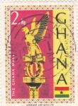 Sellos de Africa - Ghana -  El mazo de Ghana