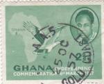 Sellos de Africa - Ghana -  Conmemoración Independencia de Ghana