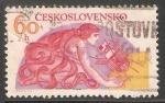 Sellos de Europa - Checoslovaquia -  Francia Rusia