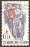 Sellos de Europa - Checoslovaquia -  60 aniversario de la Independencia
